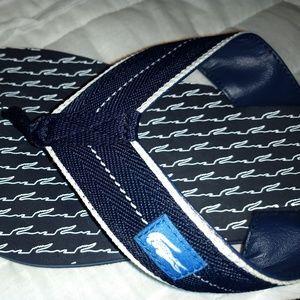 Lacoste unisex Flip Flops, Slides